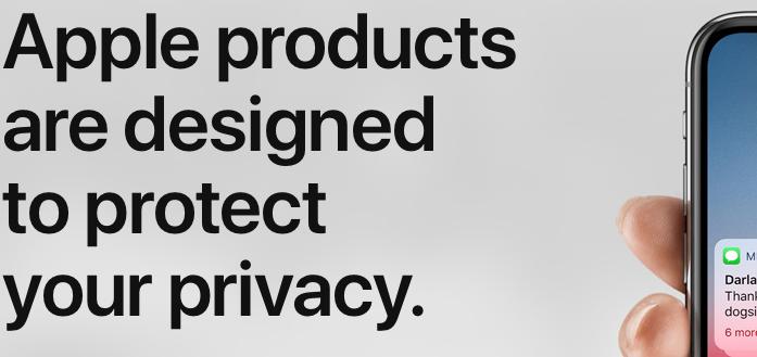Privacy von Apple